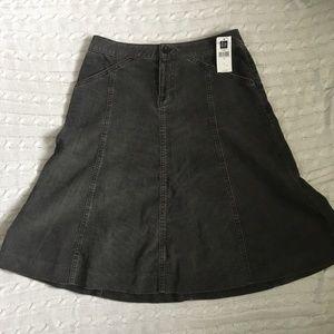 GAP Stretch Corduroy Skirt Size 2 NWT